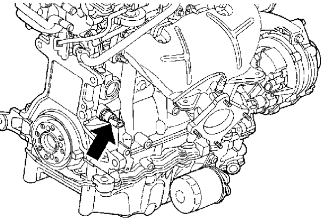 How to replace an oil pressure sensor switch on a 2005 2.4L ... Wiring Diagram For Pt Cruiser Crankshaft Sensor on