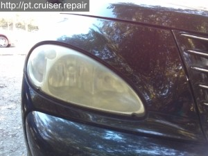 Rénovation optiques de phares PT Cruiser